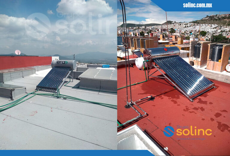 Proyectos Calentadores Solares Solinc 4