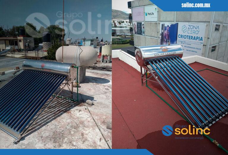 Proyectos Calentadores Solares Solinc 7