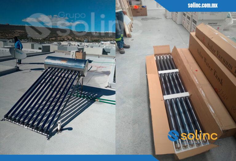 Proyectos Calentadores Solares Solinc 8